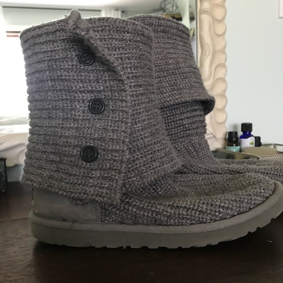 Ugg Shoes Sweater Knit Boots Poshmark